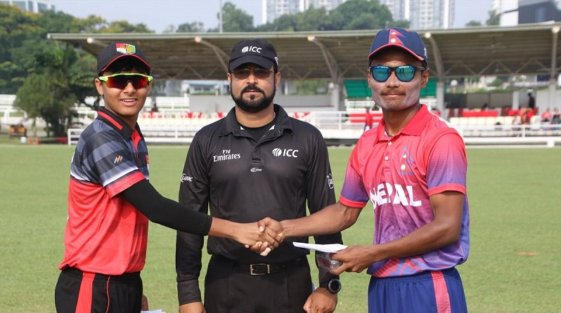 Match Review: Nepal U19 beats Singapore U19 by 217 runs